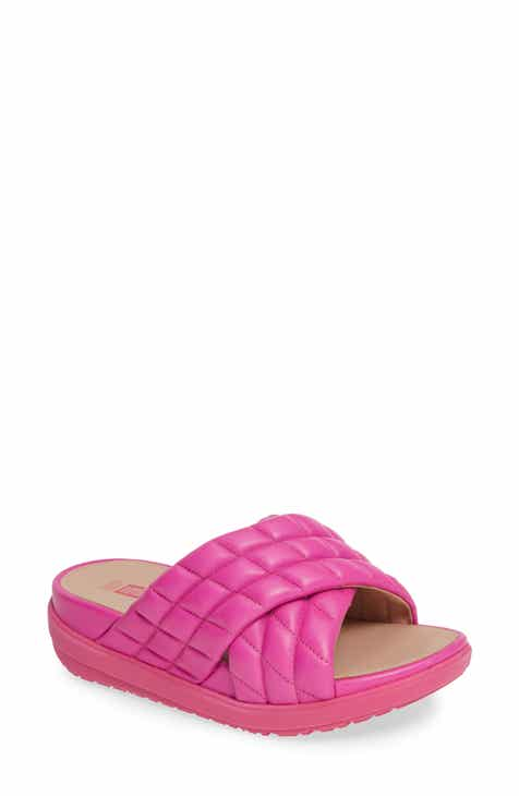 500756027 FitFlop Loosh Luxe Slide Sandal (Women)