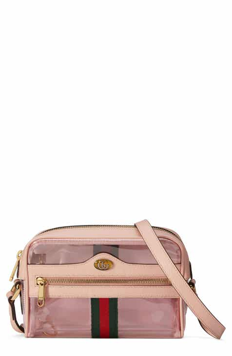 c357d8cd231 Gucci Ophidia Transparent Convertible Bag