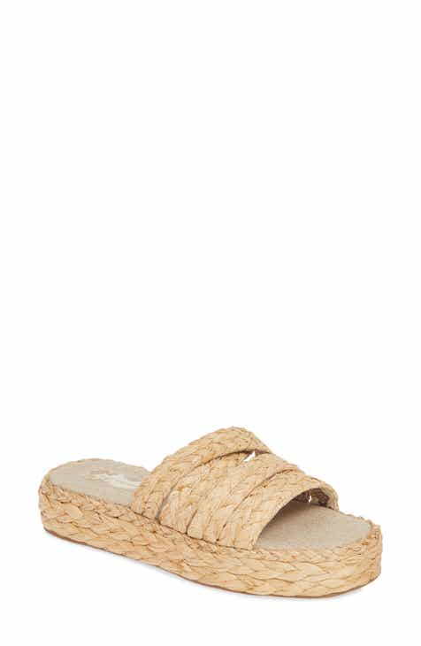 856849746c49 Band of Gypsies Solstice Platform Slide Sandal (Women)