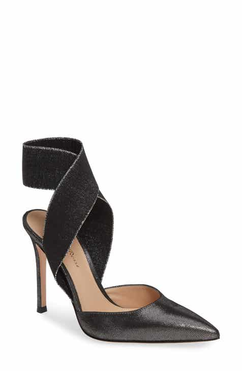 788201c4ec26 Gianvito Rossi Elastic Ankle Wrap Pump (Women)
