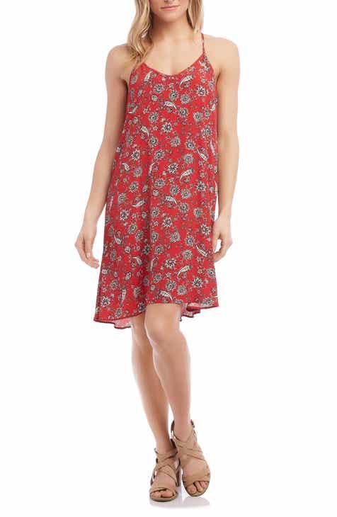 Karen Kane Paisley Print Racerback Dress