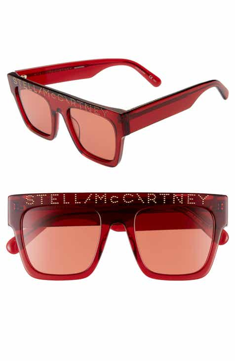 b40267d14ef Stella McCartney 51mm Flat Top Sunglasses