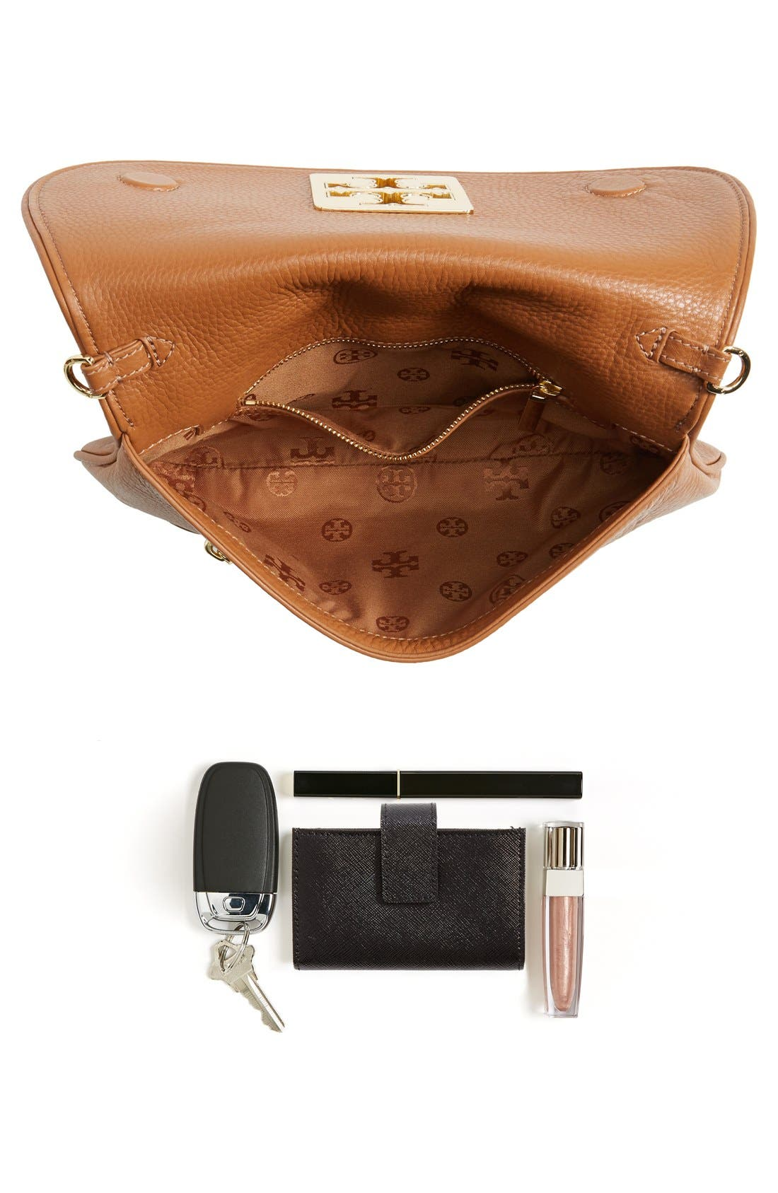 Alternate Image 7  - Tory Burch 'Britten' Leather Clutch