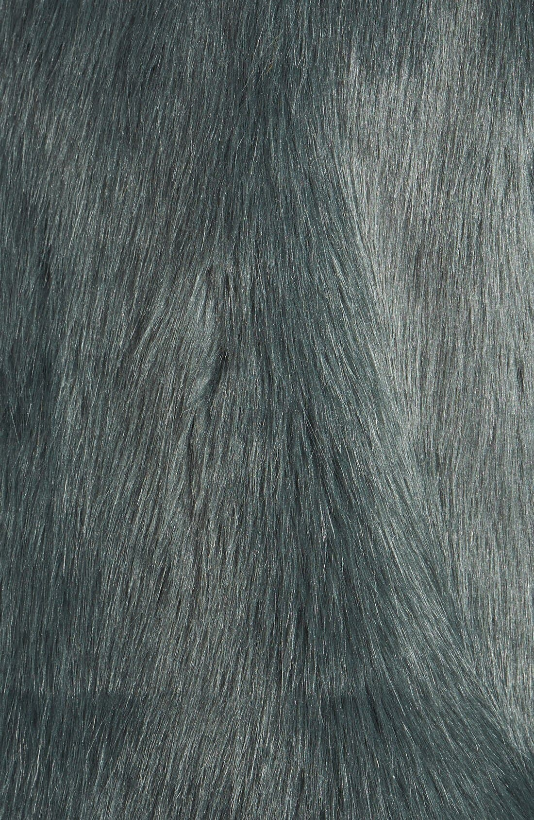 Alternate Image 3  - Laundry by Design Faux Fur Vest