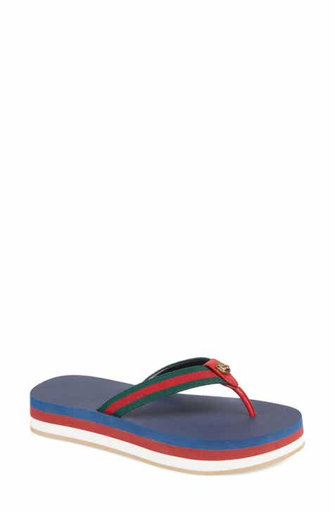 d746efe8b3a Gucci New Bedlam Flip Flop (Women)