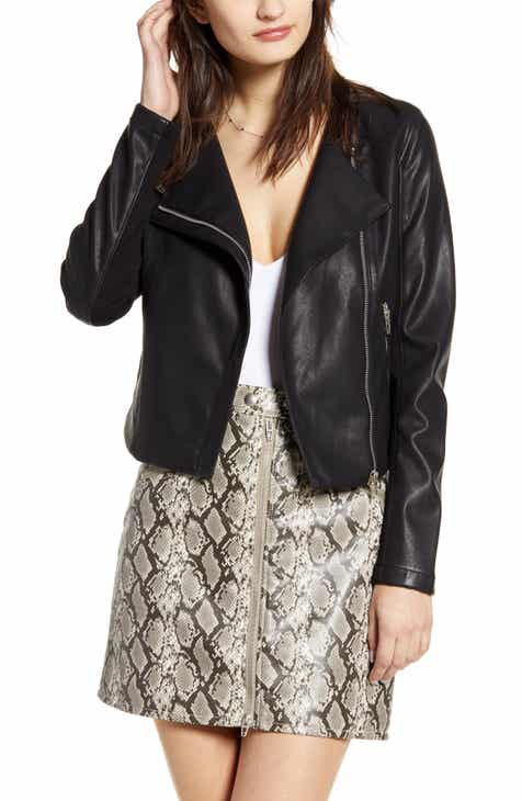 17c7e0fd Women's Leather & Faux Leather Coats & Jackets | Nordstrom