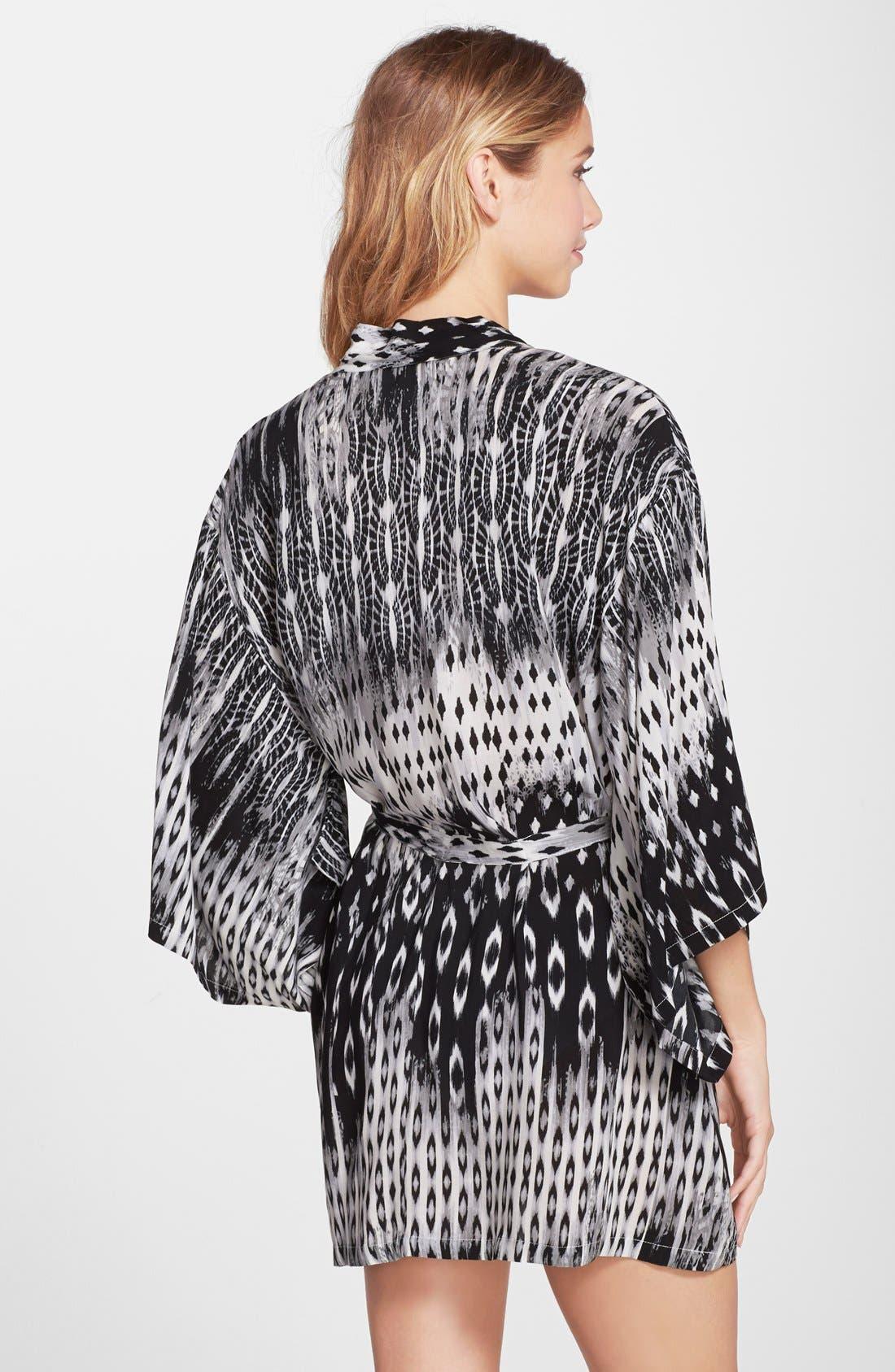 Alternate Image 2  - Josie Print Woven Happi Coat (Nordstrom Exclusive)