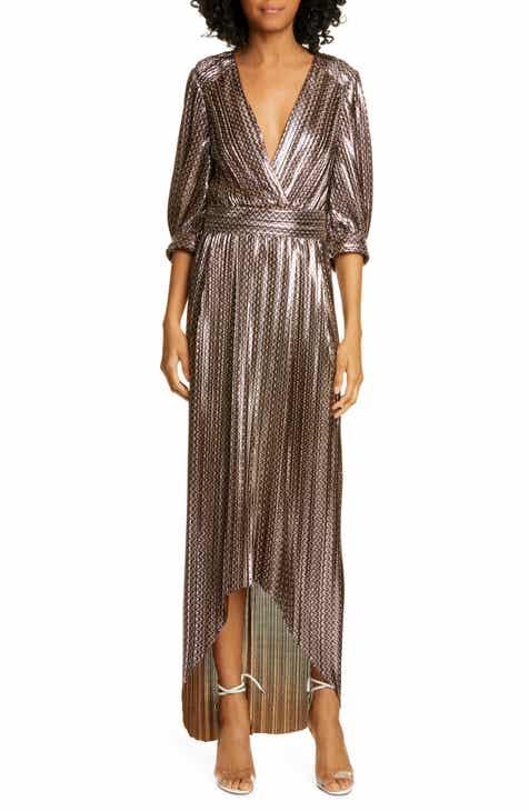 f3ed5ea6799c ba&sh Pacey Metallic Zigzag Stripe Maxi Dress