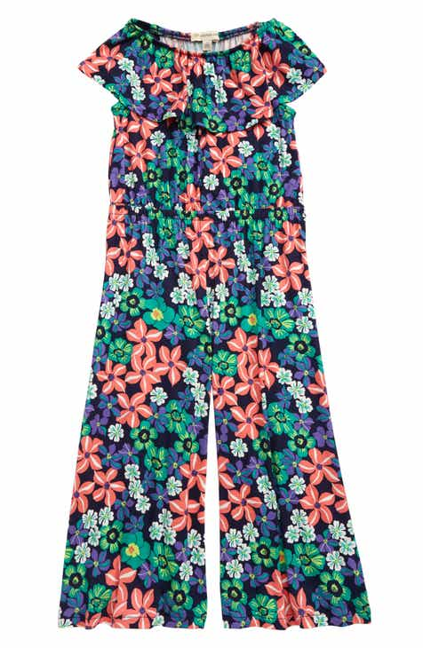 ccc257bf2 Tucker + Tate Take Me to the Beach Jumpsuit (Toddler Girls, Little Girls &  Big Girls)
