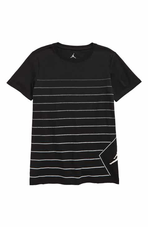 7af2903059 Jordan JSW Stripe Diamond Logo Graphic T-Shirt (Big Boys)