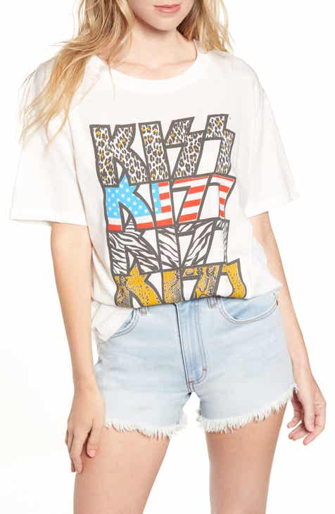 56d9ea56 Day by Daydreamer Kiss Graphic Tee