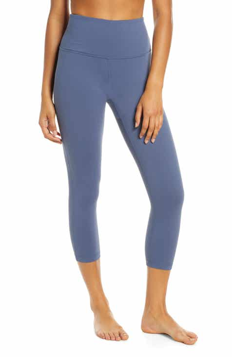 27e05492a2 Zella Live In High Waist Crop Leggings