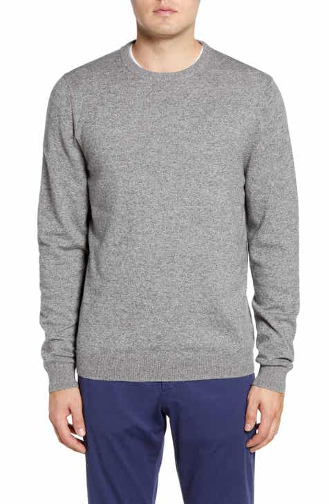 7f706797c2aef8 Nordstrom Men's Shop Cotton & Cashmere Crewneck Sweater