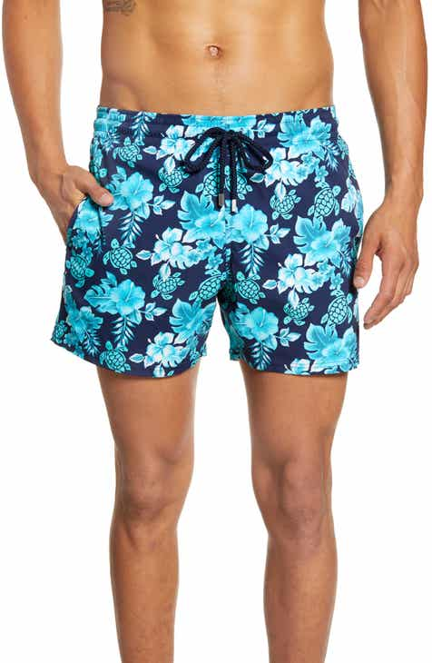 d41ae40588 Vilebrequin Moorea Turtles Flowers Swim Trunks