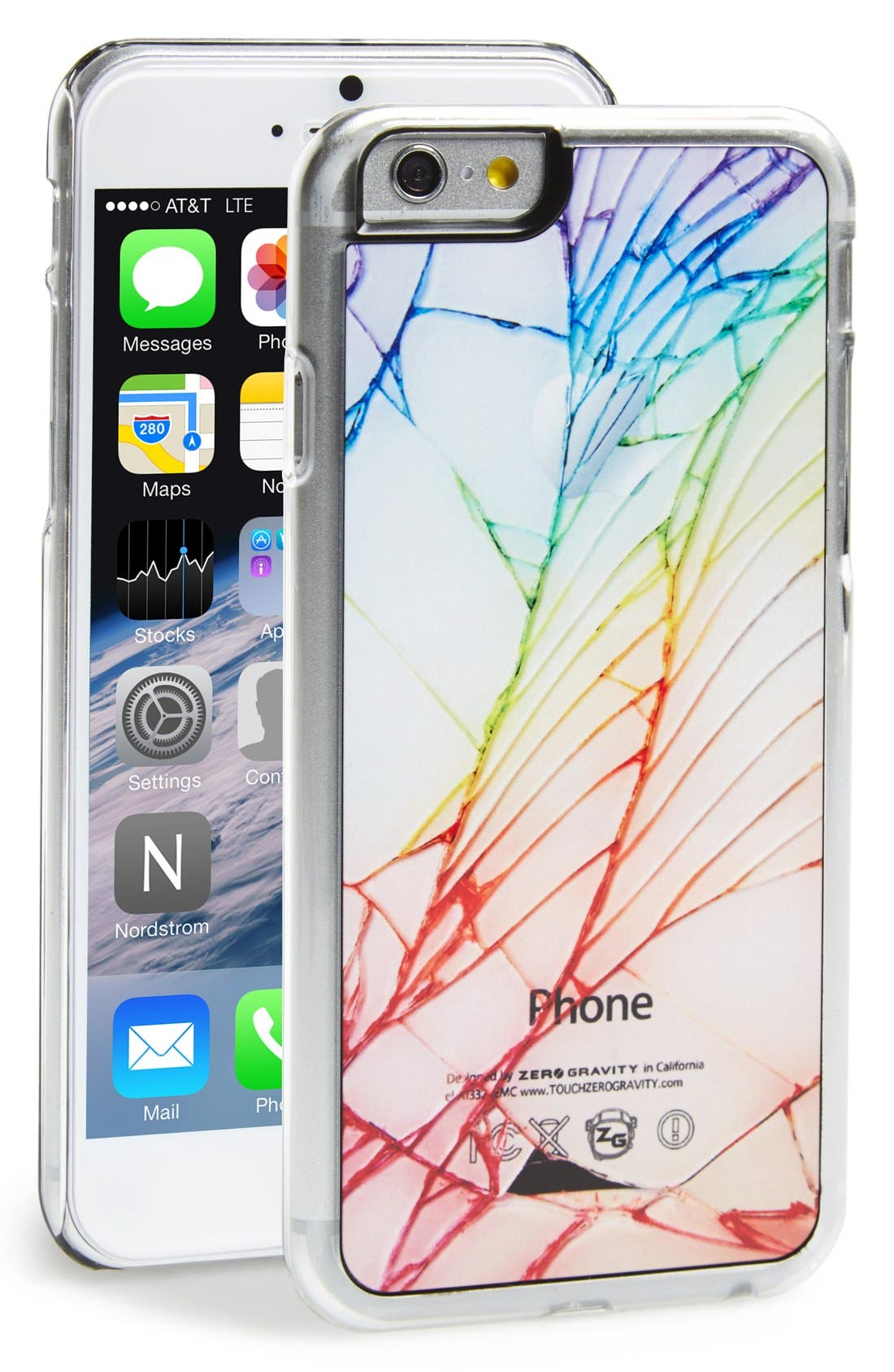 Alternate Image 1 Selected - Zero Gravity 'Cracked Out' iPhone 6 Plus & 6s Plus Case