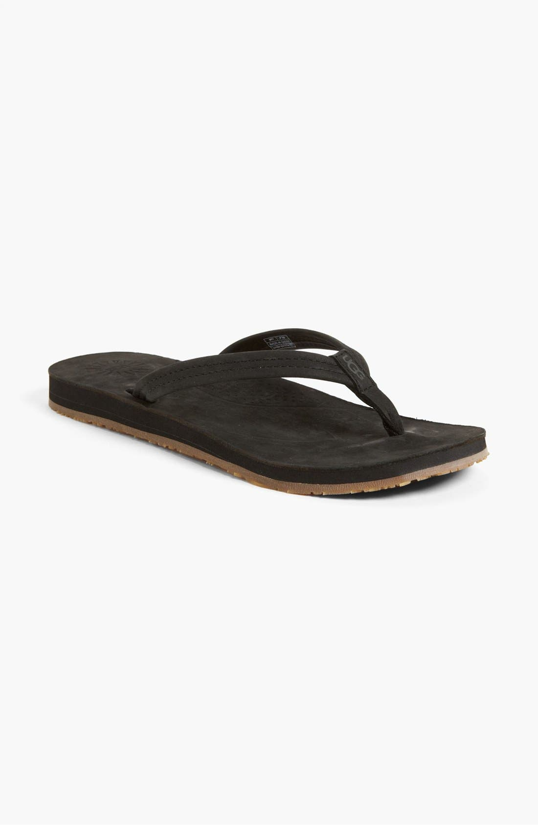 Alternate Image 1 Selected - UGG® 'Kayla' Thong Sandal (Women)