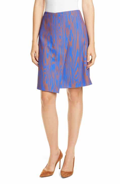 dd047cde9 BOSS Vaprinta Asymmetrical Hem Skirt