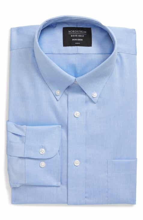 29e35c73a Nordstrom Men s Shop Trim Fit Non-Iron Dress Shirt