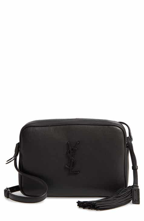 0c73e9e3c3a Saint Laurent Lou Calfskin Leather Camera Bag