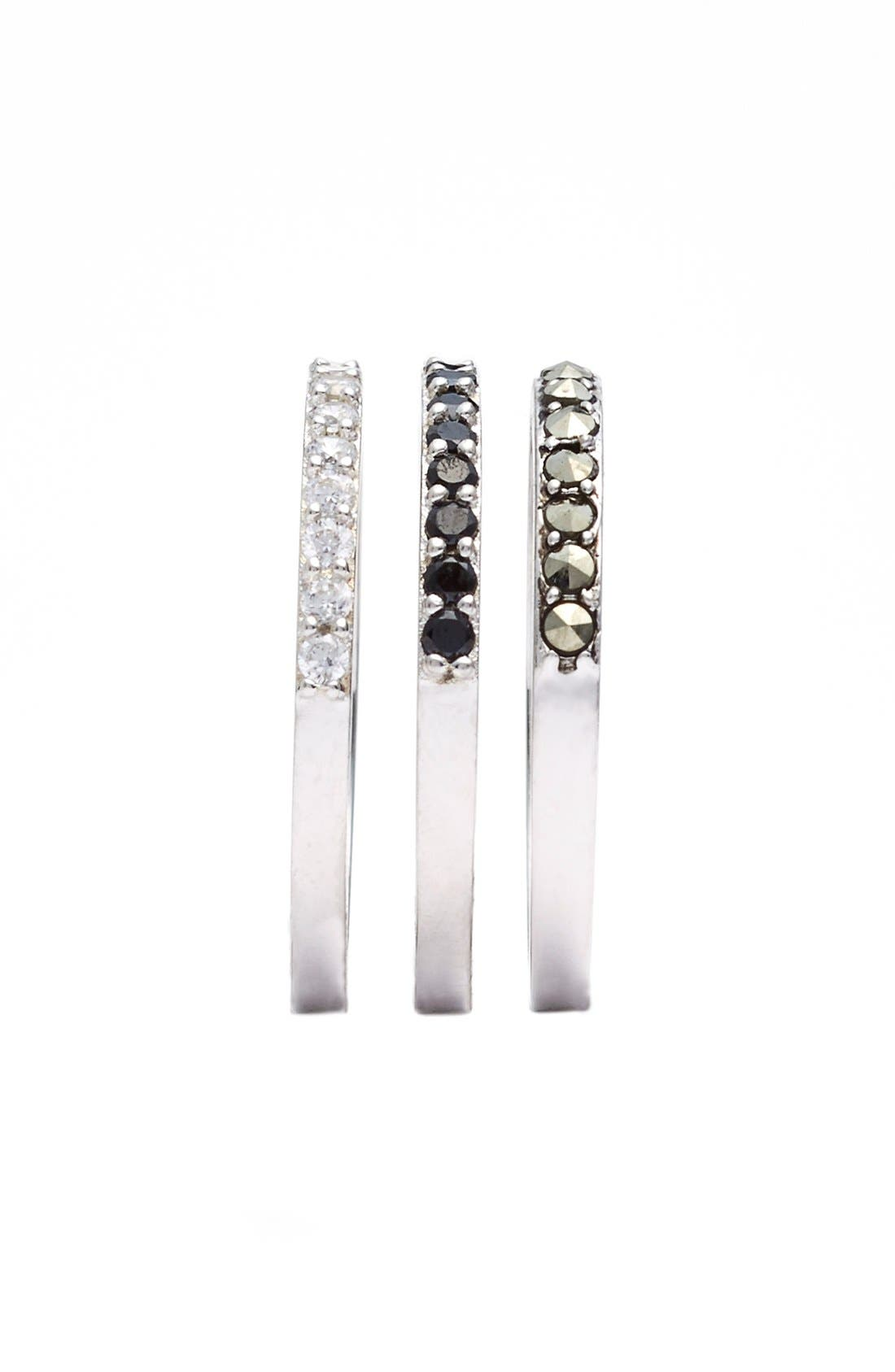 Alternate Image 2  - Judith Jack 'Rings & Things' Stackable Rings (Set of 3)