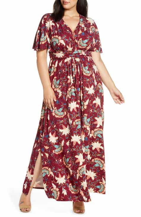 Kiyonna Vienna Maxi Dress (Plus Size)