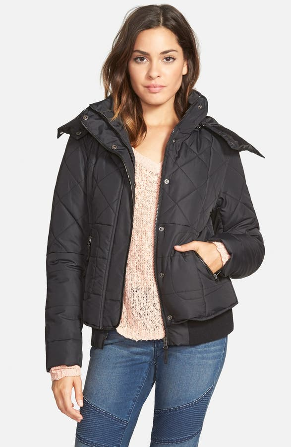 Maralyn & Me Quilted Puffer Coat (Online Only) | Nordstrom : quilted puffer coat - Adamdwight.com