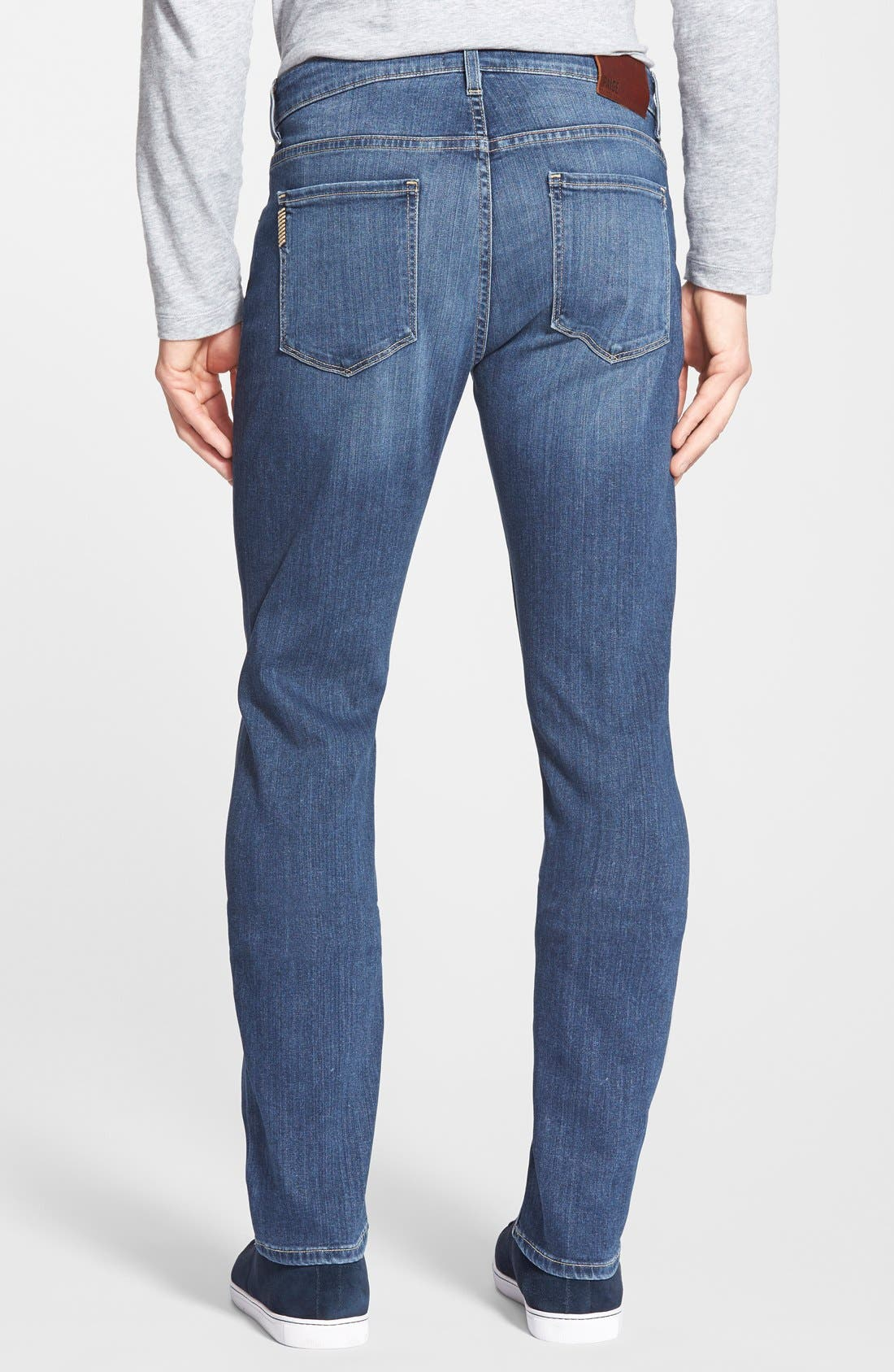 Alternate Image 2  - PAIGE Transcend - Federal Slim Straight Leg Jeans (Birch)