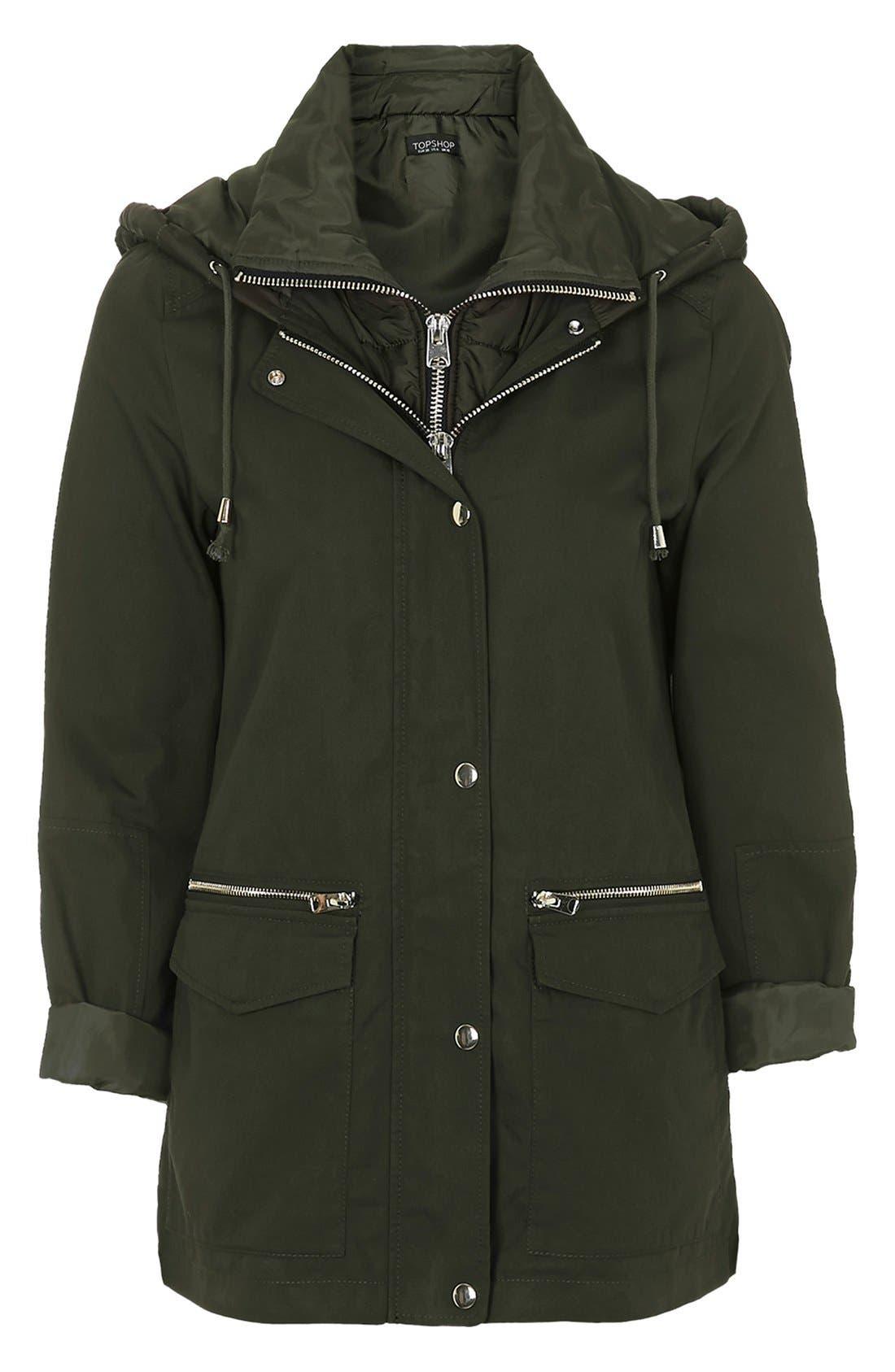 Alternate Image 6  - Topshop 'Kiora' Jacket