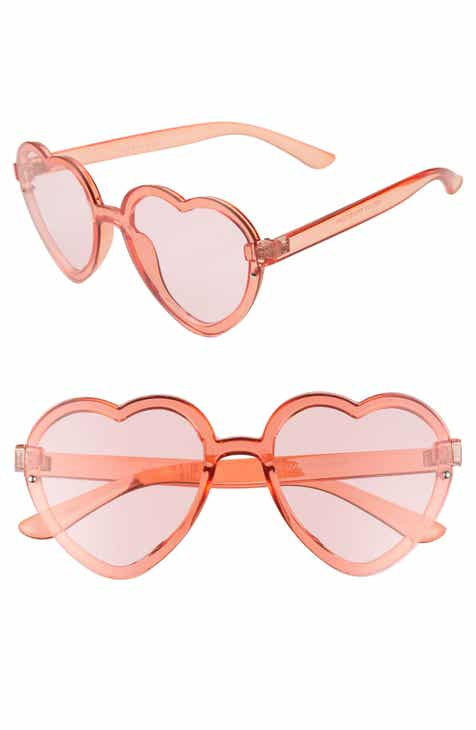 BP. 52mm Flat Front Heart Shape Sunglasses