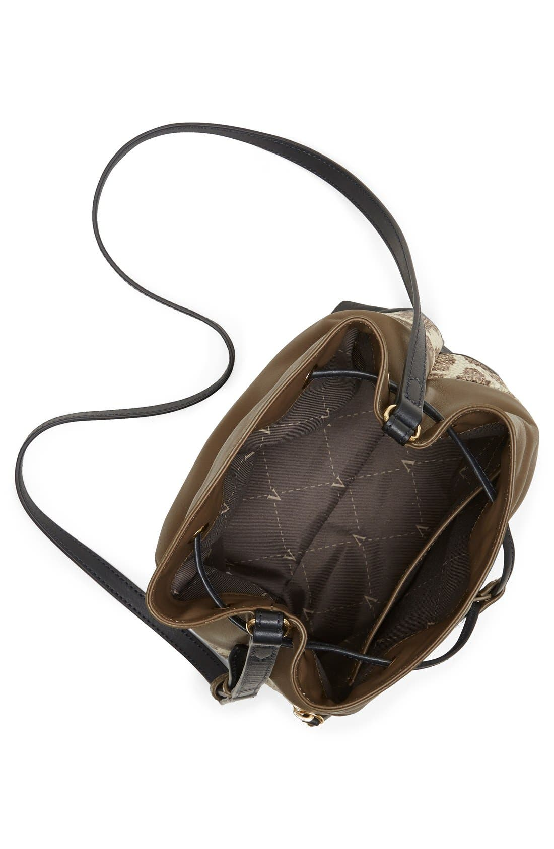 Alternate Image 3  - Vince Camuto 'Meg' Pebbled Leather Bucket Bag