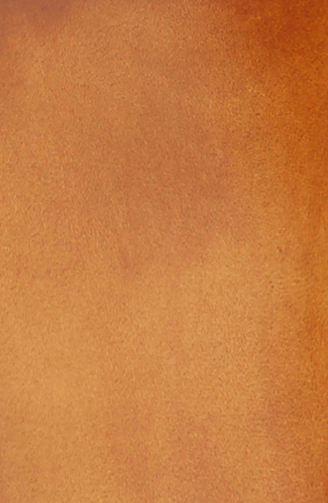 Carbon Leather Belt,                             Alternate thumbnail 2, color,                             Cognac