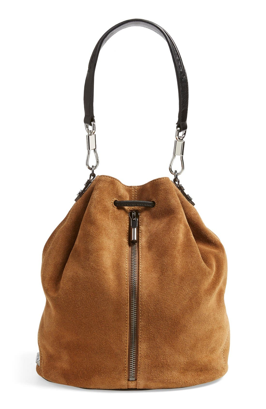 Alternate Image 1 Selected - Elizabeth and James 'Cynnie' Suede Sling Backpack