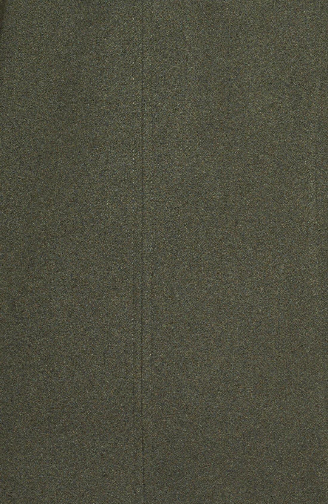 Toggle Jacket,                             Alternate thumbnail 3, color,                             Hunter Green