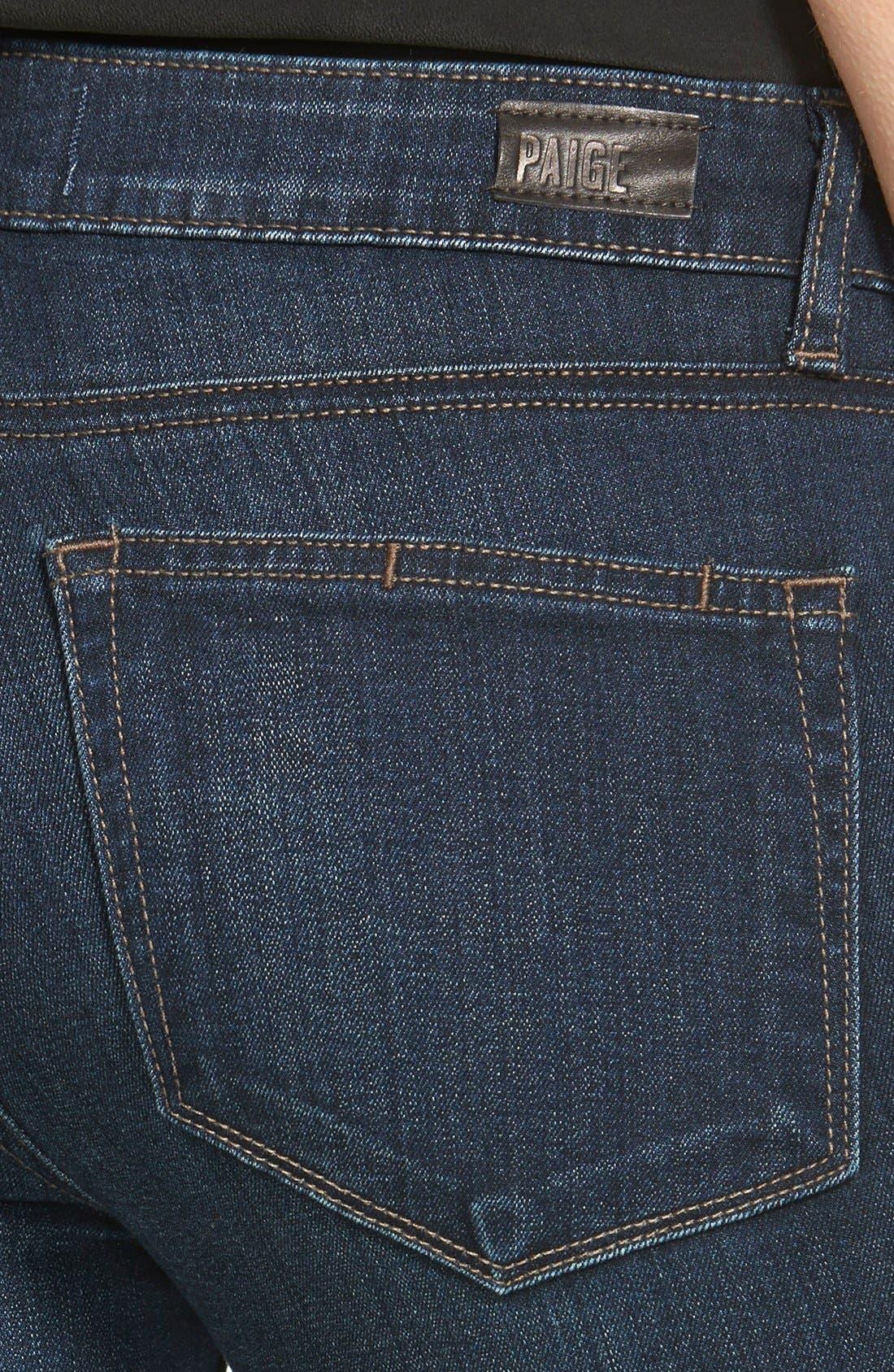 Alternate Image 3  - PAIGE 'Transcend - Verdugo' Ultra Skinny Jeans (Clark)