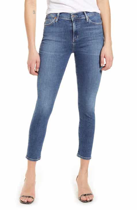 Citizens of Humanity Rocket High Waist Crop Skinny Jeans (Story)