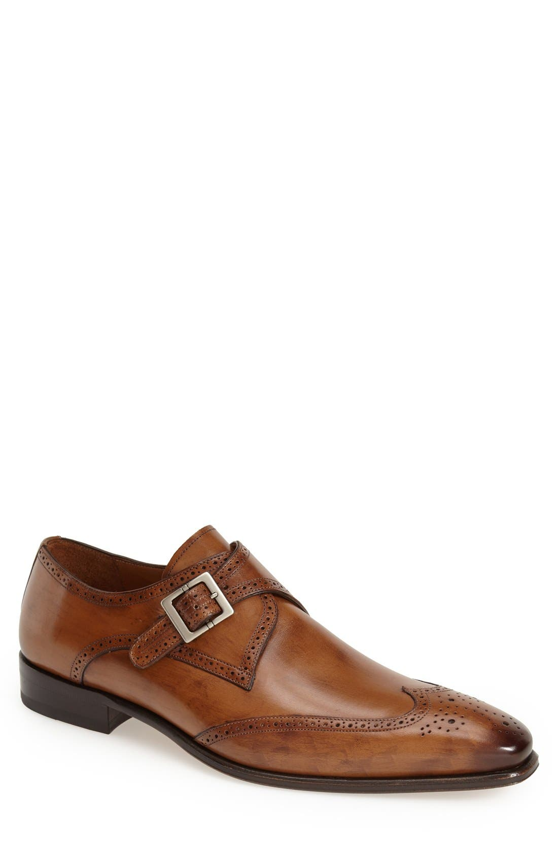 Mezlan 'Vitoria' Monk Strap Oxford (Men)
