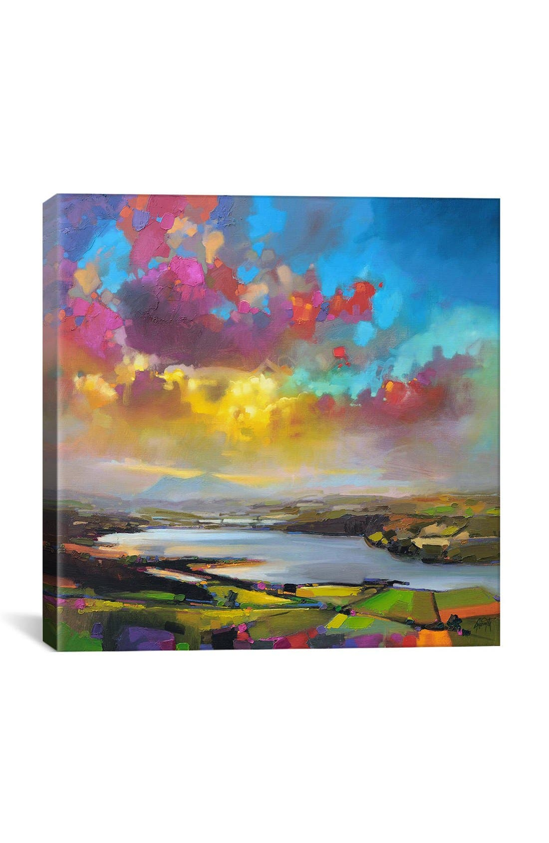 Alternate Image 1 Selected - iCanvas 'Struie Dornoch' Giclée Print Canvas Art