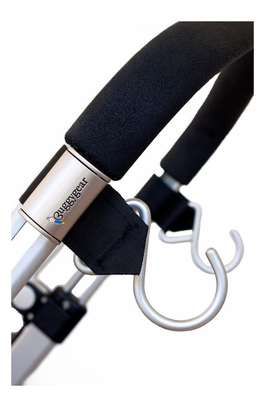 Alternate Image 2  - Buggygear 'Boutique' Stroller Hooks (Set of 2)