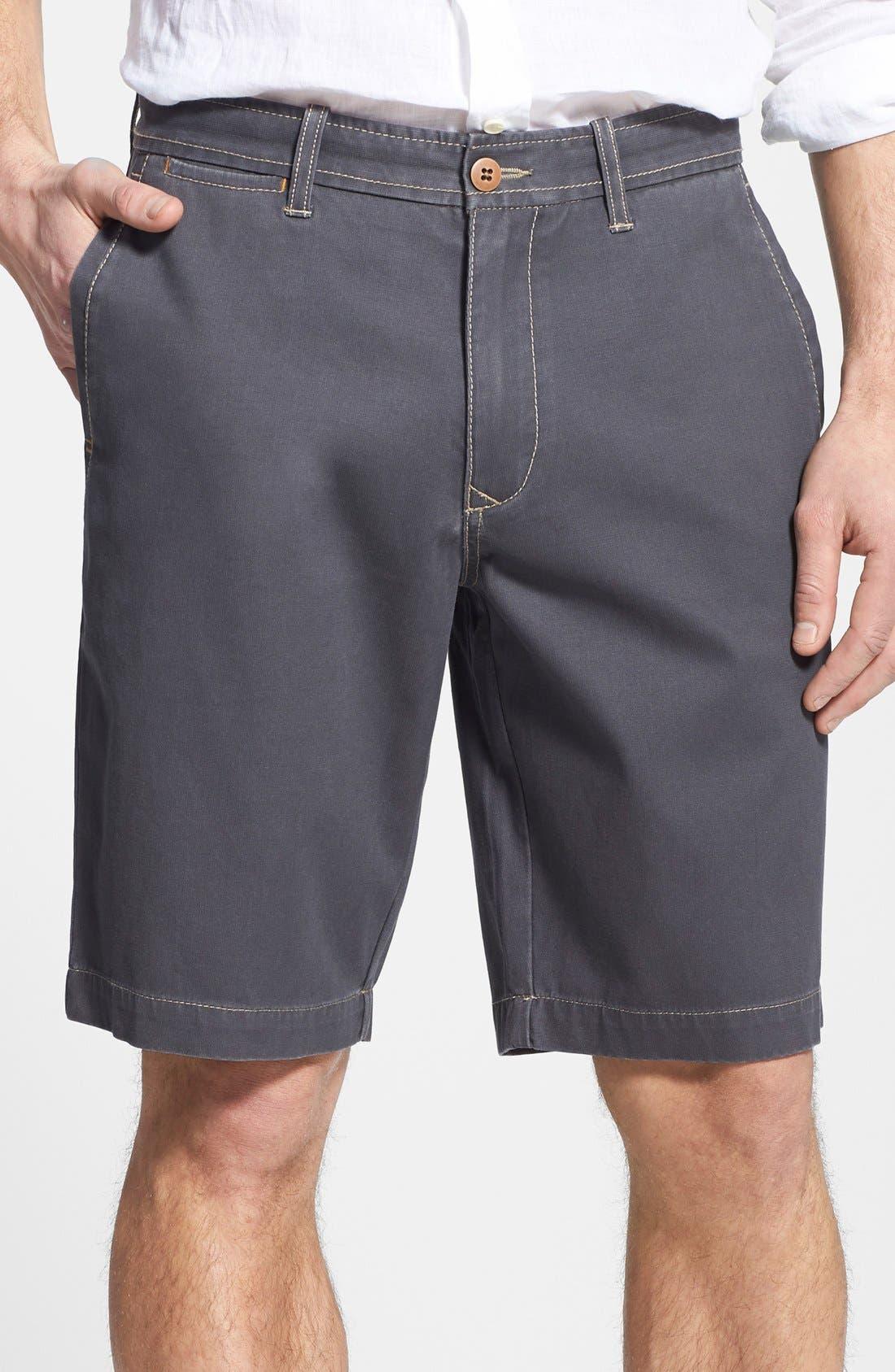 'Bedford & Sons' Shorts,                             Main thumbnail 1, color,                             Fog Grey