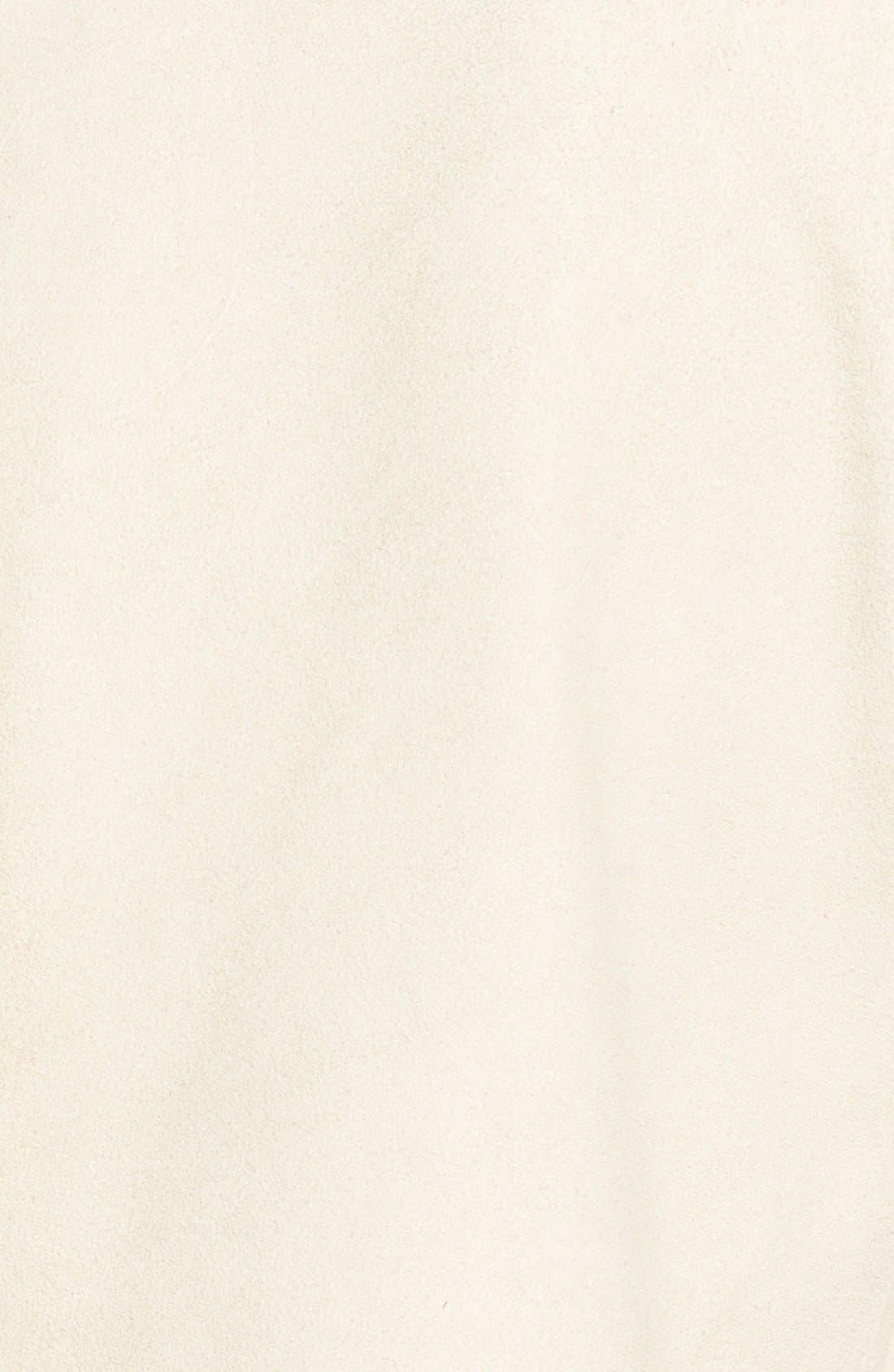 Alternate Image 3  - Eileen Fisher Drape Front Soft Suede Jacket