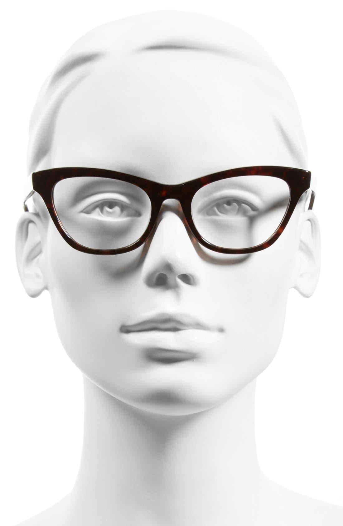 Alternate Image 2  - Steven Alan 'Bayview' 51mm Cat Eye Optical Glasses