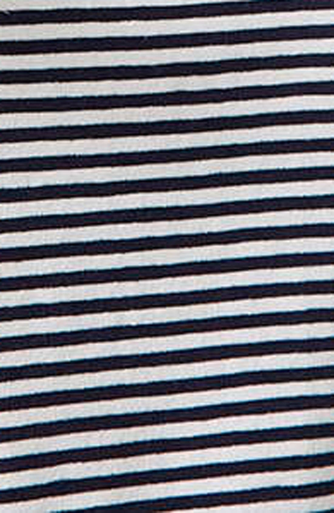 Alternate Image 4  - Topshop Lace Trim Crop Tee (Petite)