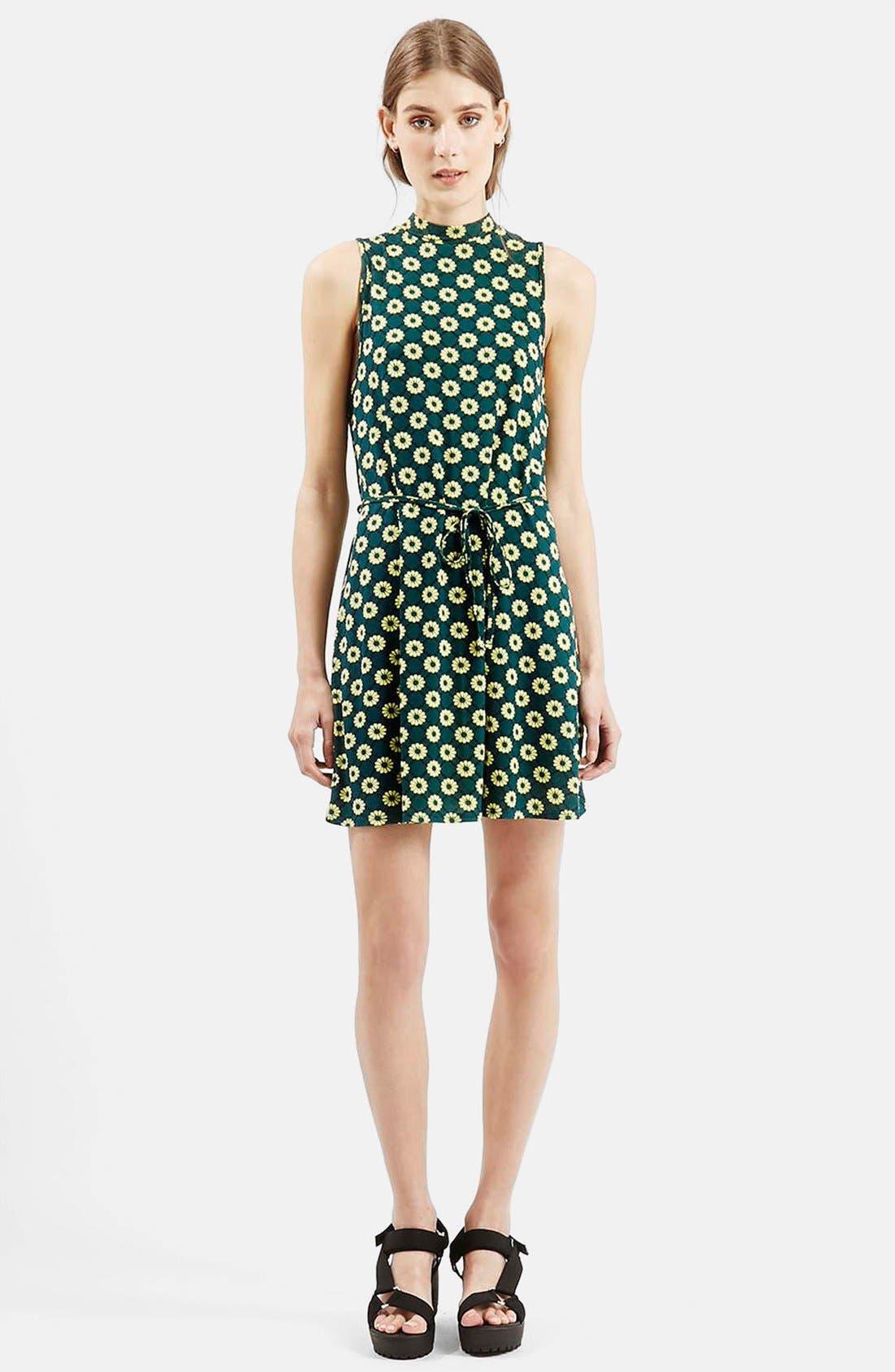 Alternate Image 3  - Topshop 'Scandi' Flippy Sleeveless Dress