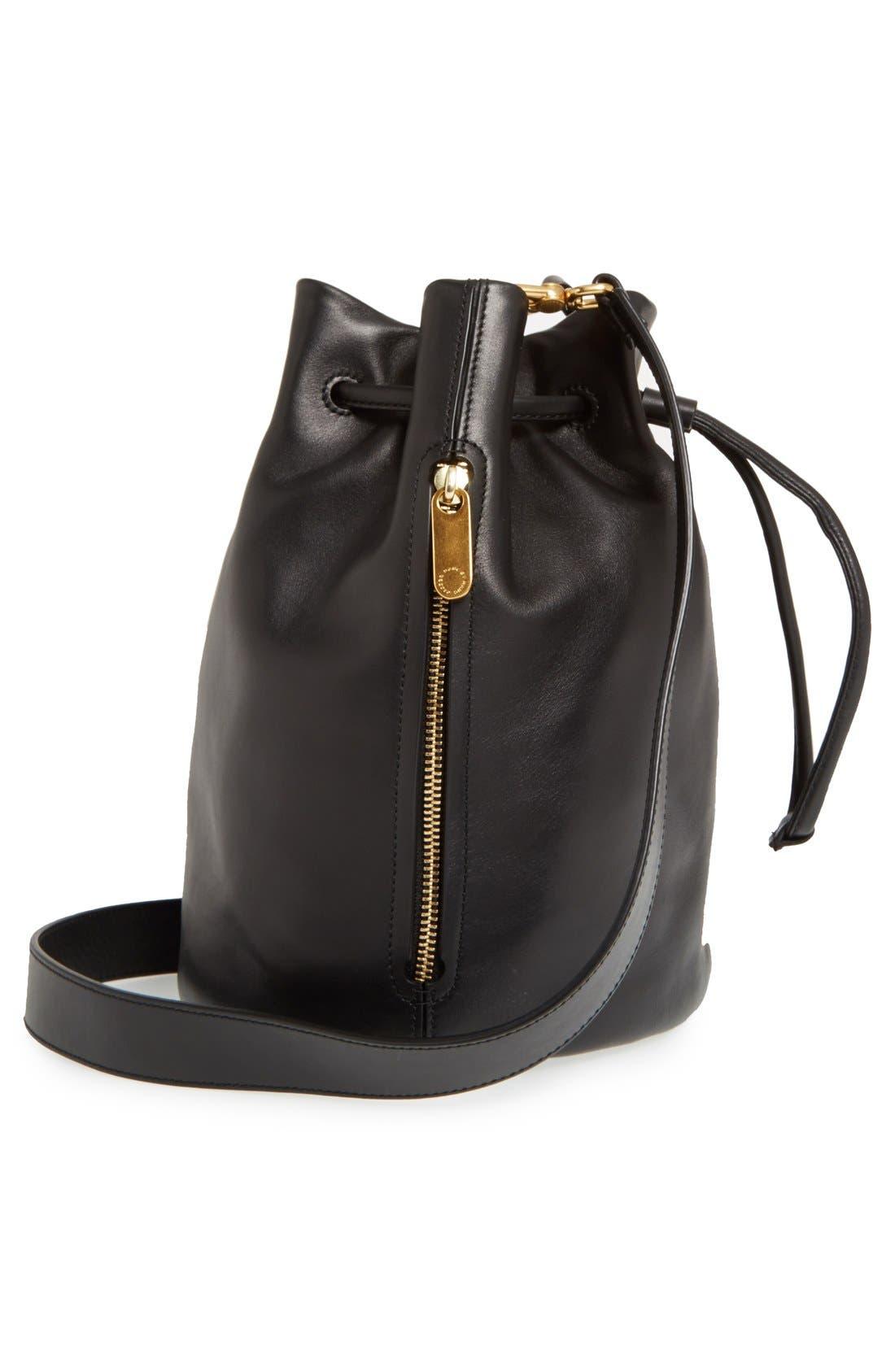 Alternate Image 5  - MARC BY MARC JACOBS 'Luna' Leather Drawstring Bucket Bag