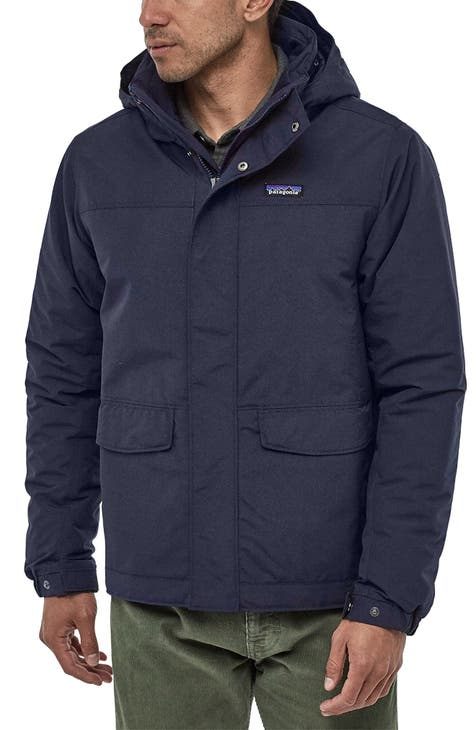 파타고니아 후드 파카 Patagonia Isthmus Wind Resistant Water Repellent Hooded Parka,navy blue