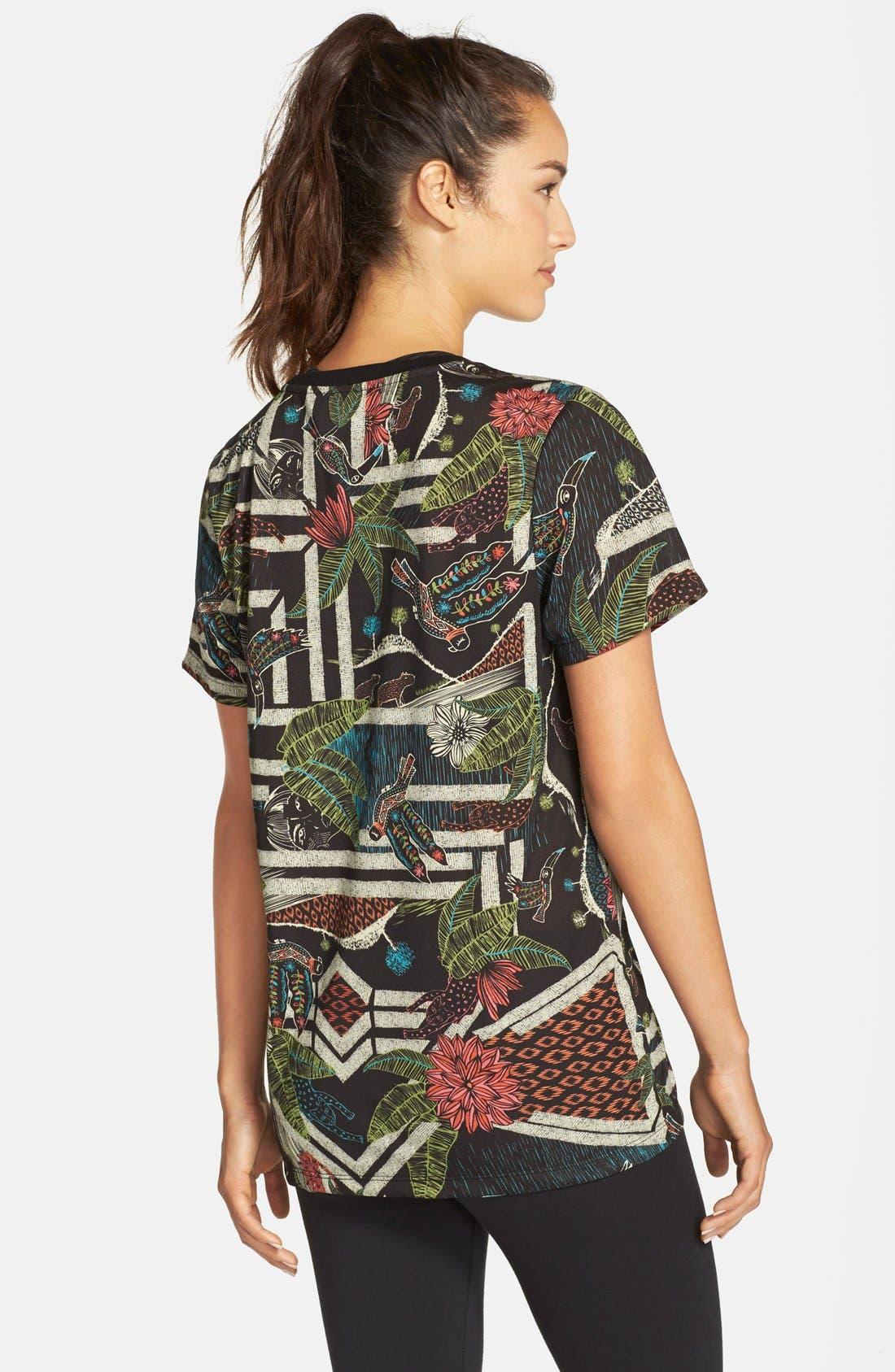 Alternate Image 2  - adidas 'Xilofloresta' Logo Print Jersey Tee
