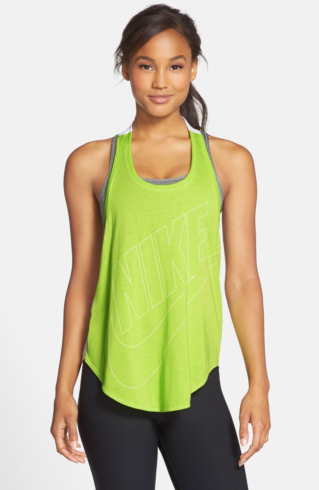 Main Image - Nike 'Signal' Back Twist Tank