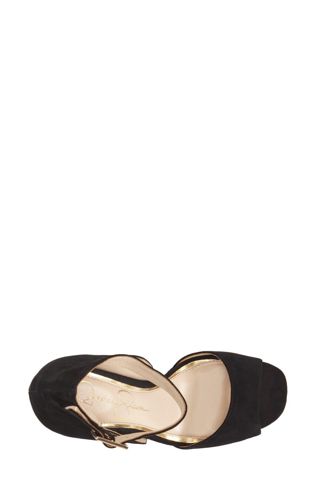 Alternate Image 3  - Jessica Simpson 'Athens' Ankle Strap Platform Sandal (Women)