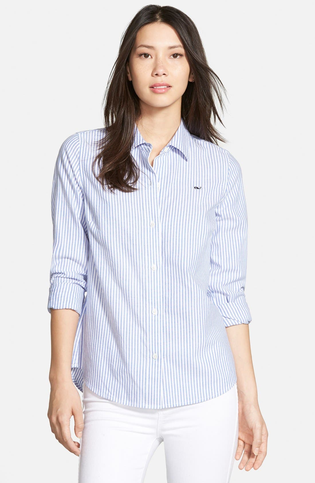 Alternate Image 1 Selected - Vineyard Vines Oxford Stripe Shirt