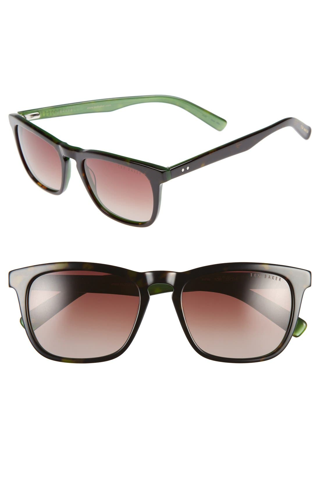 Alternate Image 1 Selected - Ted Baker London 53mm Sunglasses